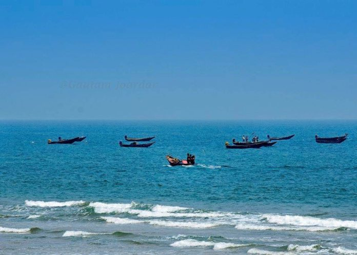 Chandrabhaga sea beach - Konark