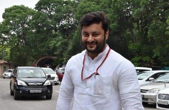 Anubhav Mohanty politician