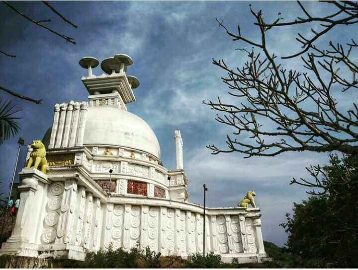 Dhauligiri Shanti Stupa Images