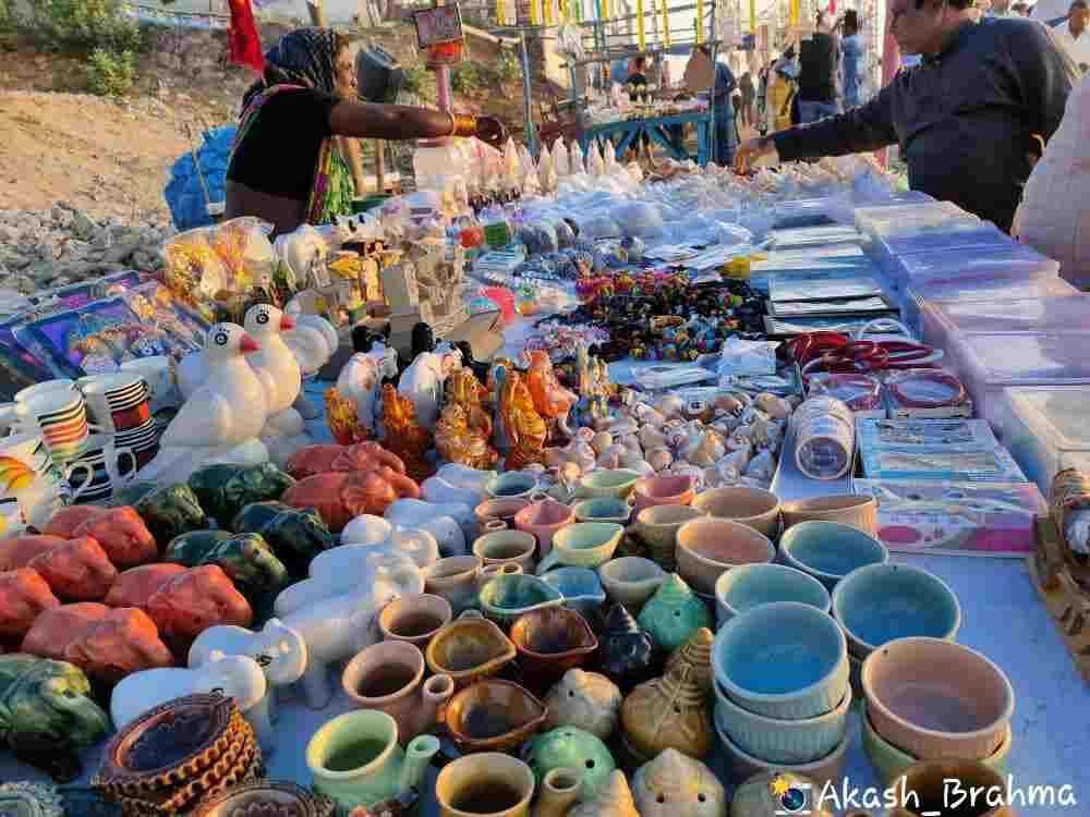 Market Places near Gopalpur Sea Beach