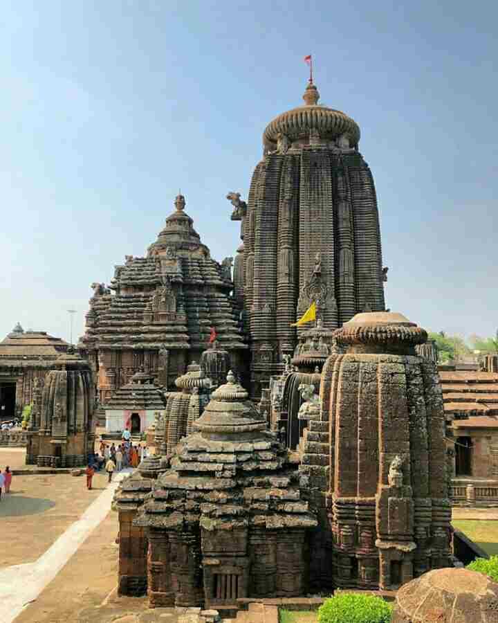 Lingaraj Temple Of Bhubaneswar
