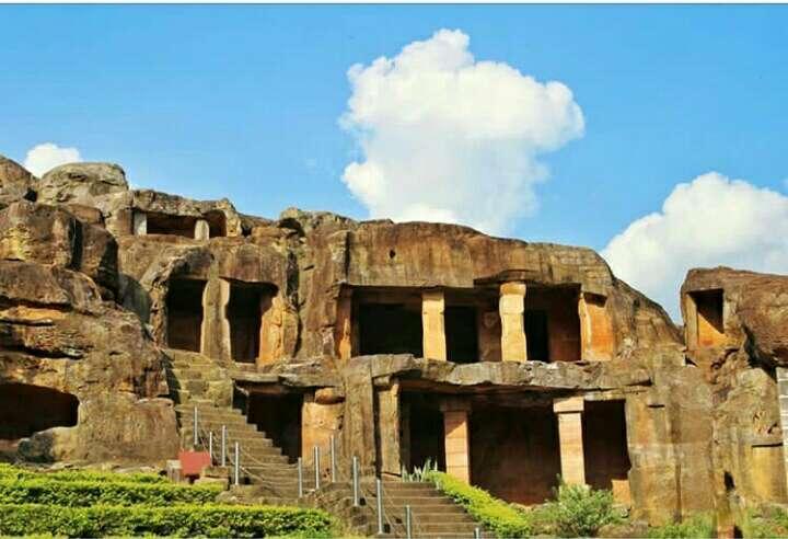 Khandagiri Caves Of Bhubaneswar