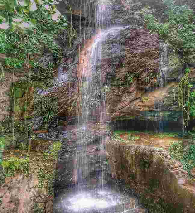 Waterfall at Buddhakhol, Ganjam
