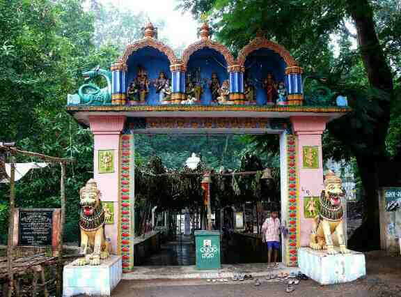Temple at Taptapani