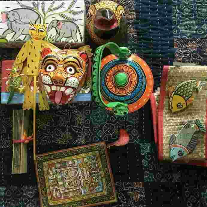 Art and Crafts at Raghurajpur craft village