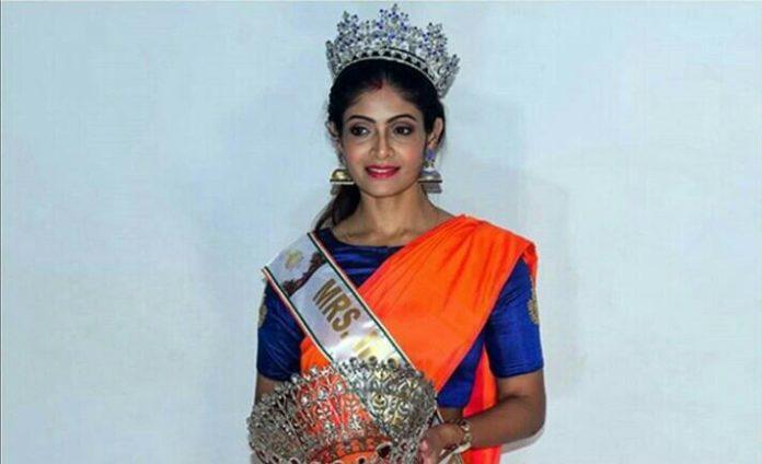 Odisha's Sonalee Raj Mohanty crowned Mrs. India Universe 2019