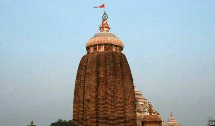 Main temple of puri jagannath temple