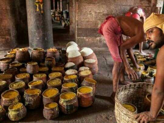 Making Of Mahaprasad