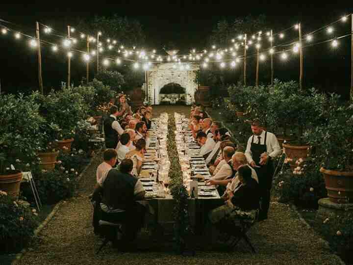 Food at Destination Wedding