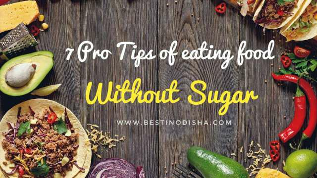 How to eat food without sugar