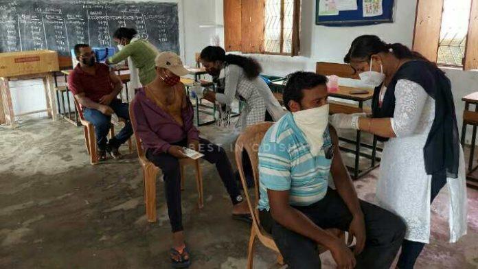 vaccination halted in odisha